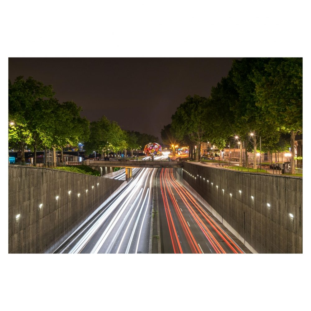 Lyon Light Trails